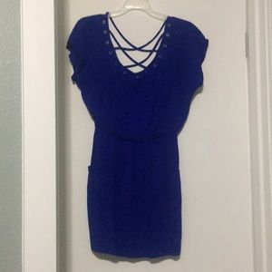 City studio blue dress